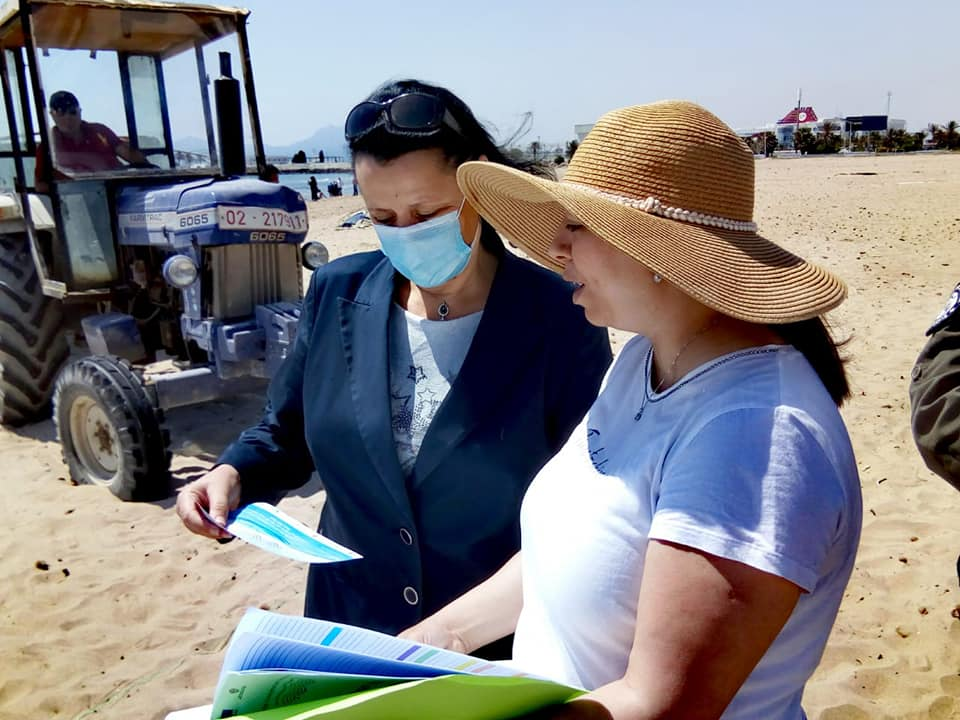 Beach Litter Monitoring at Monastir, June 2020_2