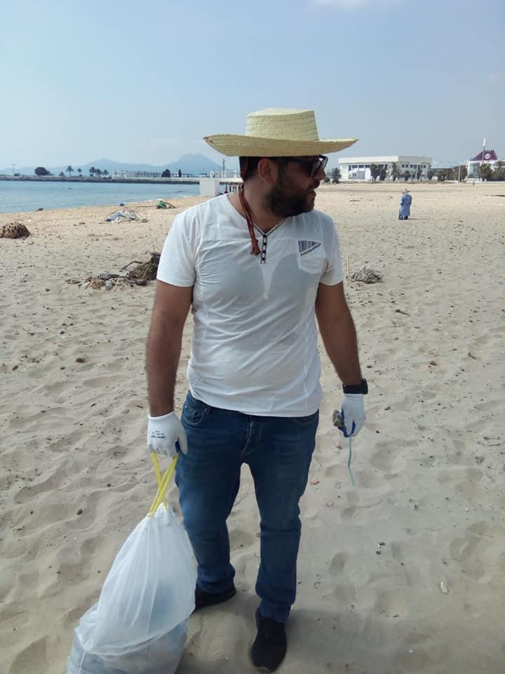 Beach Litter Monitoring at Monastir, June 2020_5