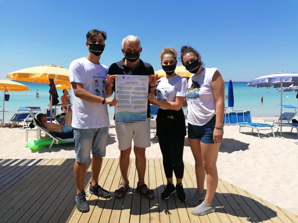 BEach CLEAN Campaign in Salento_July 2020 1