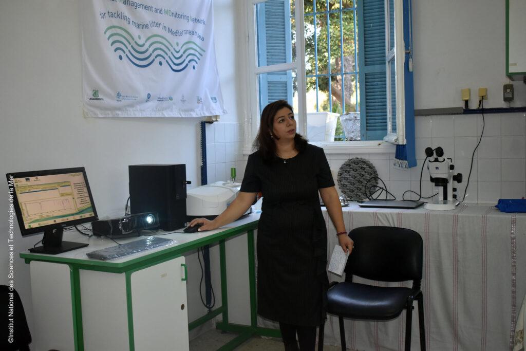 Demonstration of new spectrometer activity in Tunisia – Tunis, October 2020 2