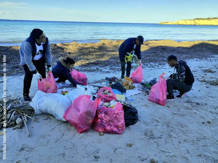 Monitoring activities on Monastir Bay 4 - December 2020