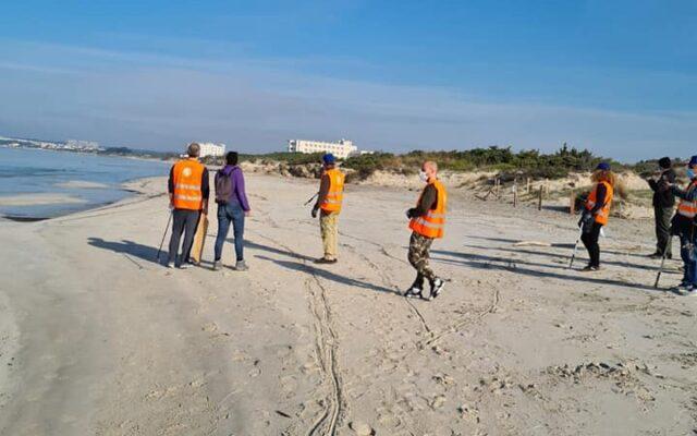 Monitoring activities on the beaches of the Italian Salento
