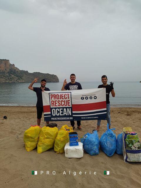 Project Rescue Ocean - Algerie